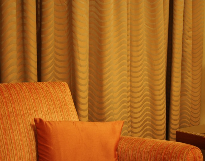 Flame Retarding Curtains